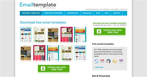 monthly email newsletter template the best places to find free newsletter templates and how
