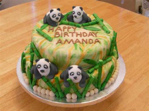 Creative Bamboo And Panda  Ee  Cake Ee   Diy  Ee  Ideas Ee