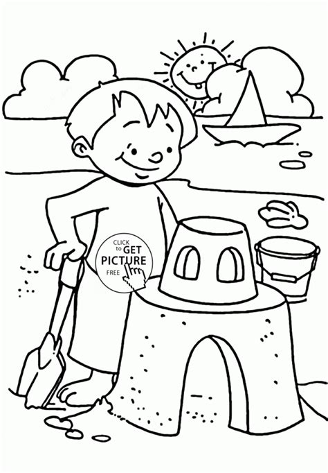 coloring pages summer season coloring pages part free