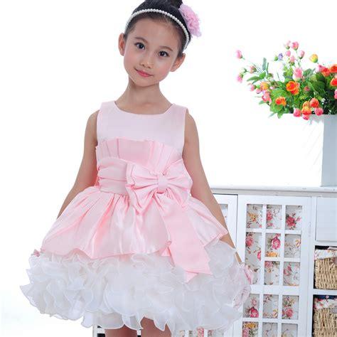Dress Babycute Coksu pink sleeveless clothes formal baby dress gown dress