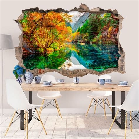 wall stickers china wall stickers 3d lake five flower china