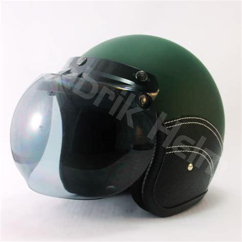Helm Retro Kulit Bogo helm jpn retro kulit kaca bogo pabrikhelm jual helm