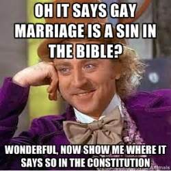 So Gay Meme - condescending wonka on gay marriage we know awesome