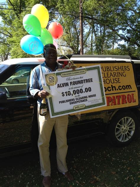 Publishers Clearing House Winners 2013 - 4 3 real publishers clearing house winner alvin roundtree pch blog