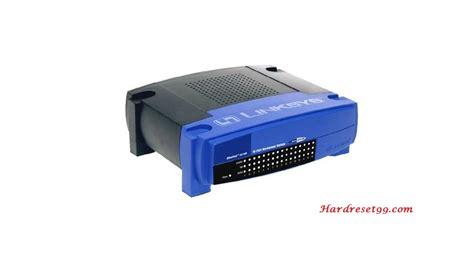 reset wifi tm linksys wrtu54g tm router how to factory reset