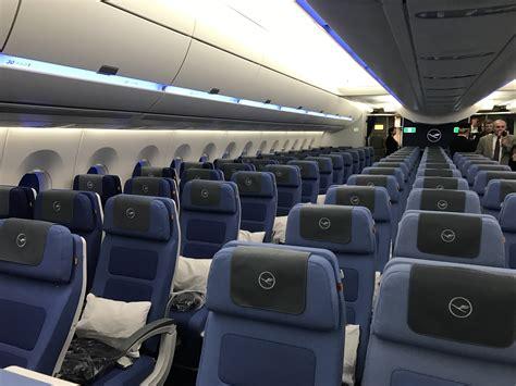 a350 cabin a look inside lufthansa s airbus a350 900