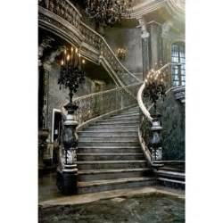 European House Plan Stairs Staircase Castle Gothic Polyvore