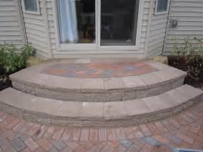Paver Patio Steps Brick Pavers Canton Plymouth Northville Arbor Patio Patios Repair Sealing