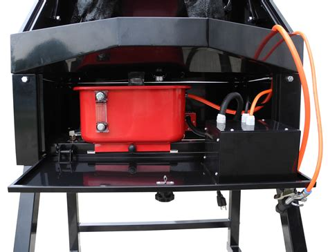 heated parts washer redline 3 gallon heated air powered parts washer free