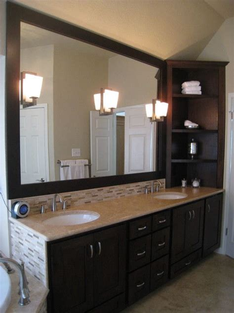 Countertop Cabinet Bathroom Solid Surface Bathroom Countertops Design Pictures Remodel Decor And Ideas Page 235
