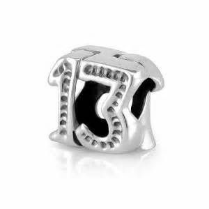 13 lucky 13 pandora charm married on the 13th and