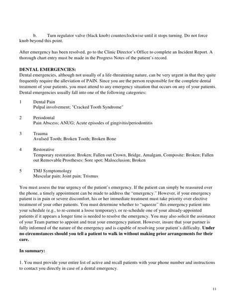 community benefit agreement template dental clinic handbook revised april 2010