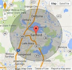 sanford florida on map chion portable toilets in sanford fl call 888 263 8822