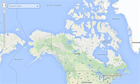 map of south canada 50 of canadians live south of the line brilliant maps
