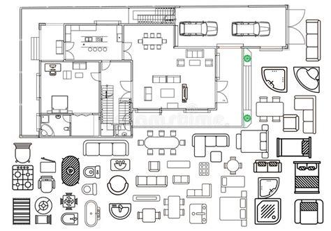 architectural color floor plan furniture top stock vector top view floor plan vector thefloors co