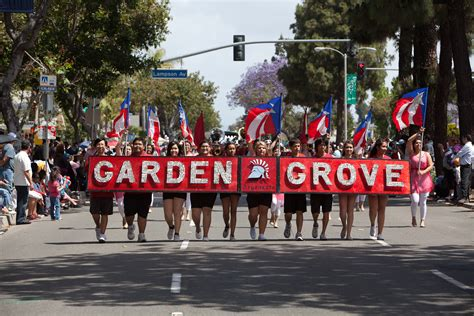 Strawberry Festival In Garden Grove by Miss California Crowns Ed Arnold Strawberry Festival