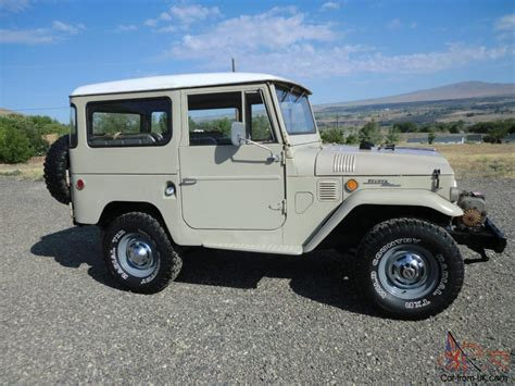 1969 Toyota Land Cruiser Fj40 No Reserve Original Stock Fj