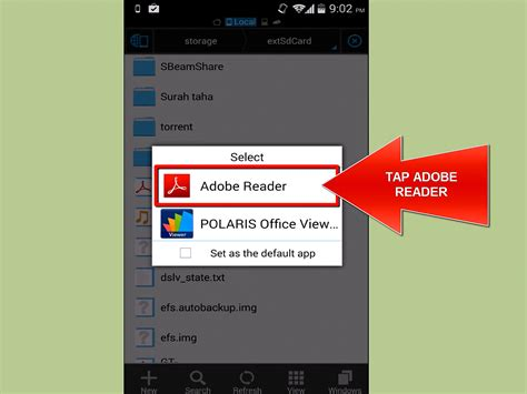 view android files on pc how to view pdf files on an android phone 5 steps