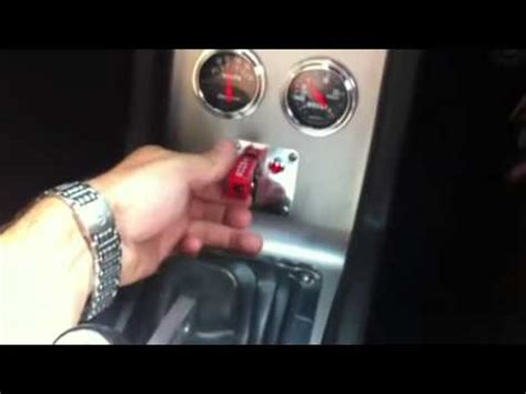 Go Baby Go Shift Knob by Eleanor Using Nitrous And Go Baby Go Button To Start Car
