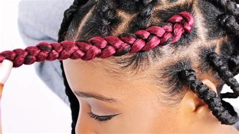 jumbo braids i like the size of these haircation how to jumbo box braids for beginners step by step