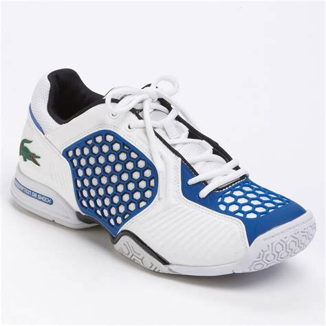 lacoste tennis shoes new lacoste repel 2 ar spm mens tennis shoes white blue