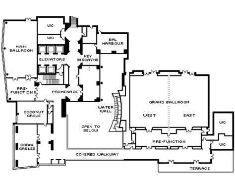 Nightclub Layout Floor Plans four seasons miami perfect for corporate events and