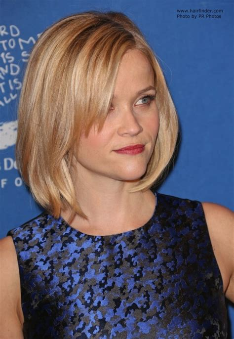 reese witherspoon angled bob reese witherspoon angled bob bob with beveled ends