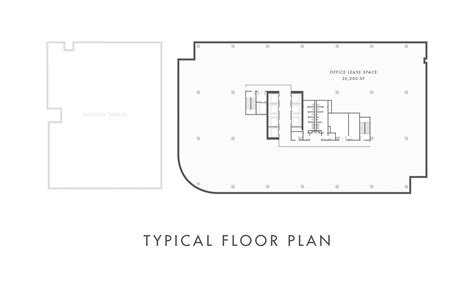 typical floor plan restaurant office leasing floor plans in downtown dallas