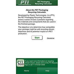 pet technologies news news app pet technologies pet recycling calculator app 2013 12 06 refrigerated