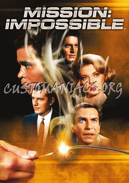 Mission Impossible Artworks 03 artwork series m dvd covers labels by customaniacs