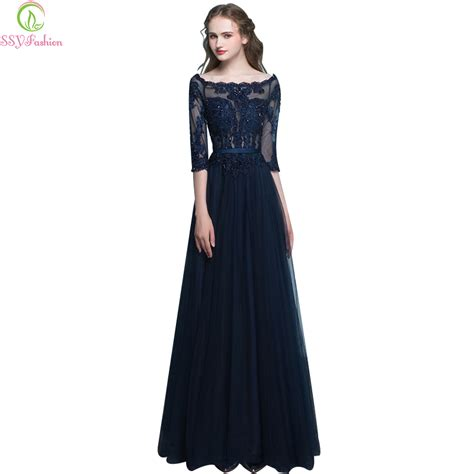 Luxe To Less Tulle Prom Dress by Ssyfashion Evening Dress Banquet 3 4
