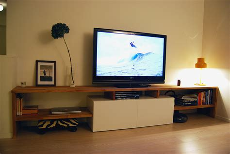 schlafzimmer tv stand kommode made to measure best 229 and oak tv bench ikea hackers