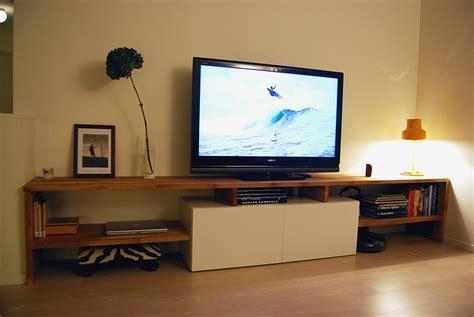 ikea besta oak made to measure best 229 and oak tv bench ikea hackers