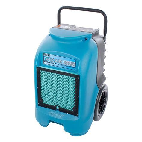 dri eaz drizair  portable dehumidifier model    gallons  day