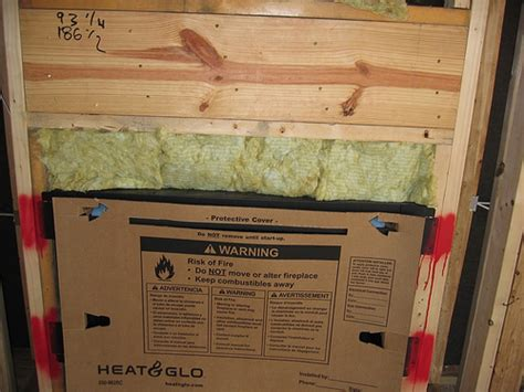 Insulating A Fireplace by Fireplace Insulation Flickr Photo