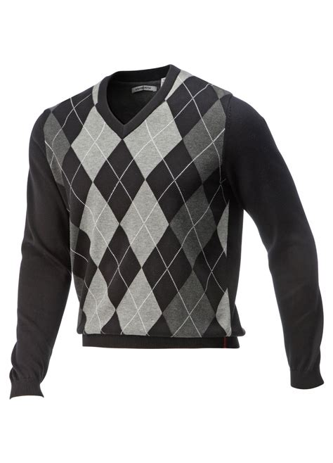 diamond pattern golf jumper special offers county golf golf sale golf clothing