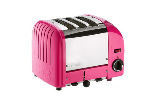 Dualit 3 Slot Toaster Chilli Pink 3 Slice Toaster 3 Slot Vario Toaster From Dualit
