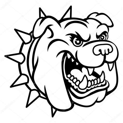 imagenes vector bulldog bulldog head stock vector 25455225