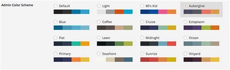 color themes 5 free best admin colour scheme plugins for wordpress 3 8