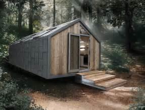 Micro Mobile Homes Prefab Camo Cabin Modern Mobile Metal Clad Trailer Home