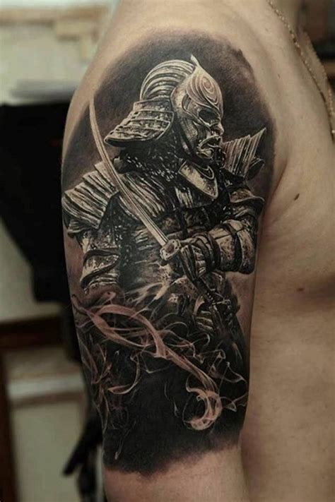 chinese warrior tattoo 40 samurai warrior designs