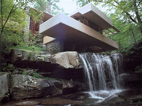 frank lloyd wright waterfall angelina jolie buys brad pitt a waterfall in california