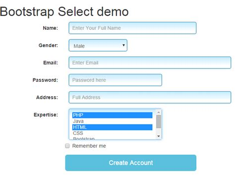 bootstrap templates for dropdown bootstrap select learn to use with 5 beautiful styles