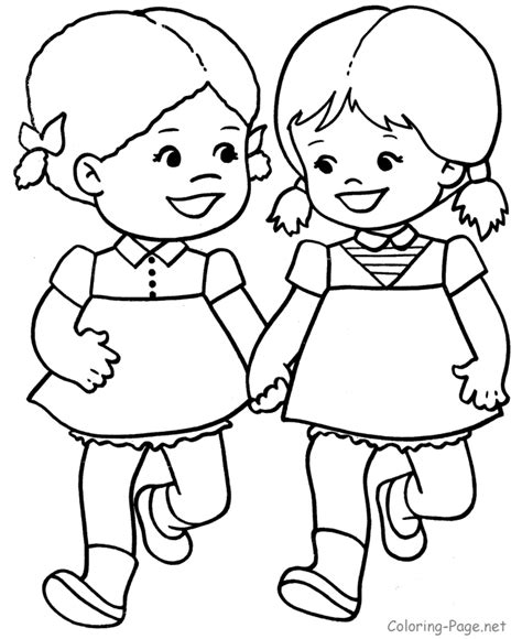 little girl coloring pages getcoloringpages com
