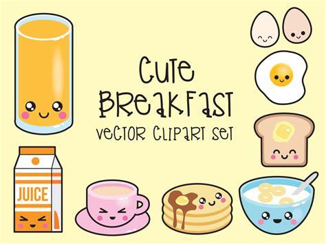 kawaii clipart premium vector clipart kawaii breakfast clipart kawaii