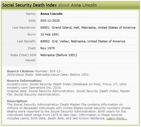 Social Security Office Grand Island Ne by Family Trees Warren Lincoln 1891