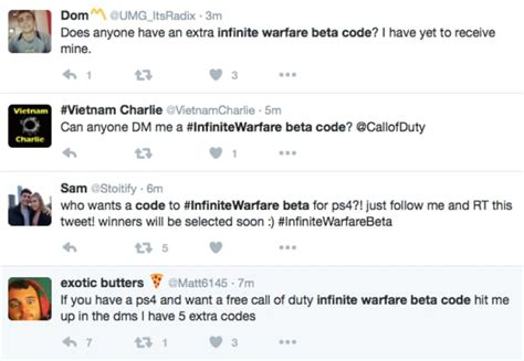 call of duty infinite warfare beta code giveaway product reviews net - Beta Code Giveaway