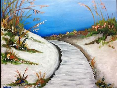 paint with a twist staten island walkway at the sarasota fl painting class