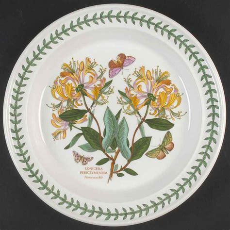 Portmeirion Botanic Garden China Portmeirion Botanic Garden Pale Honeysuckle Dinner Plate 4697622 Ebay