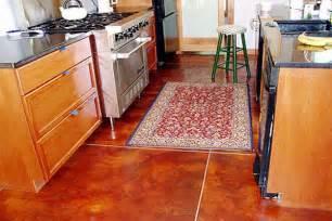 Best Floor Tiles For Kitchen - red kitchen floor tiles modern diy art designs